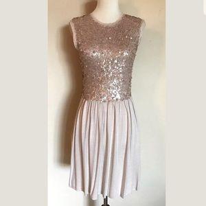NWOT Susana Monaco Sequined Party Dress